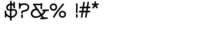 GG Serif Regular Font OTHER CHARS