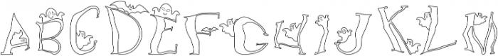 Ghost Fun 4 otf (400) Font UPPERCASE