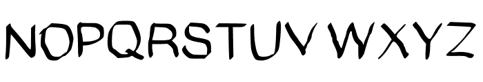GHR Calligraphy Brush Medium Font UPPERCASE