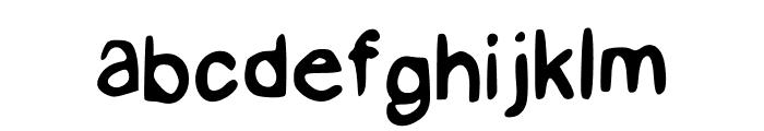 GHR JapaLish Regular Font LOWERCASE