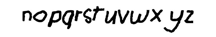 GHR_Chalk_I Font LOWERCASE