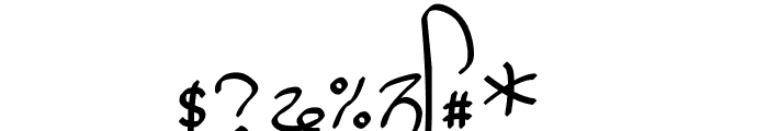 GHW Dukandar Marker Font OTHER CHARS