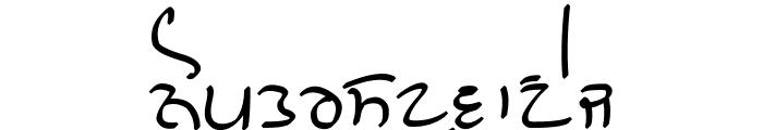 GHW Dukandar Marker Font LOWERCASE