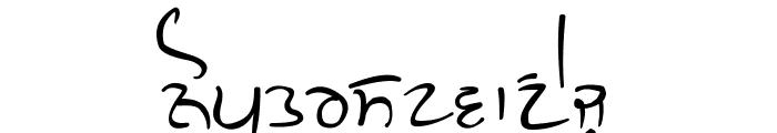 GHW Dukandar Font LOWERCASE