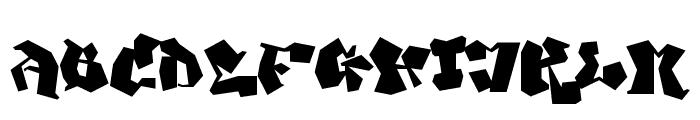 Ghang  Plain  Font UPPERCASE