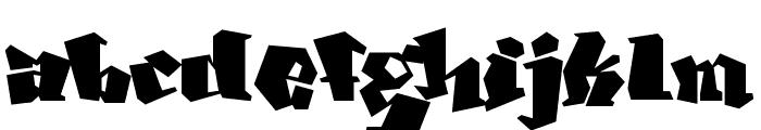 Ghang  Plain  Font LOWERCASE