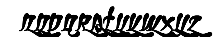 Ghetto Fabulous Bold Font UPPERCASE