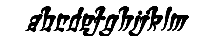 Ghetto Fabulous Bold Font LOWERCASE