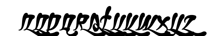 Ghetto Fabulous Font UPPERCASE