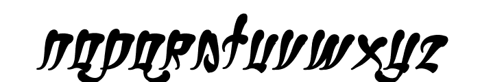 Ghetto Fabulous Font LOWERCASE