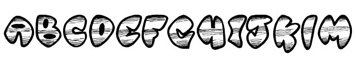Ghetto Master Font LOWERCASE
