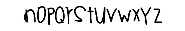GhettoSymphony Font LOWERCASE