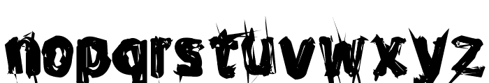Ghost Everywhere Font LOWERCASE