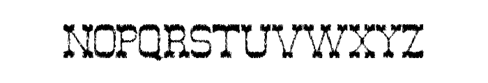 Ghost Of The Wild West Font LOWERCASE