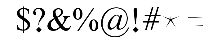 Ghost Theory Font OTHER CHARS