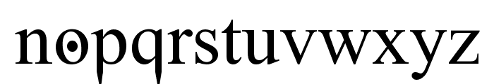 Ghost Theory Font LOWERCASE