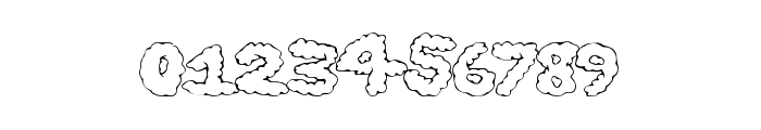 GhostClouds Font OTHER CHARS