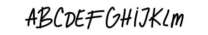GhostOfMars Font LOWERCASE