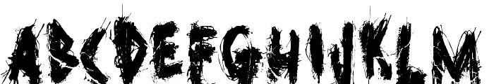 GhostReverie Font UPPERCASE