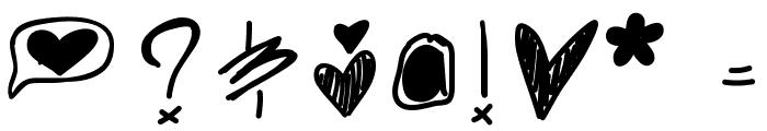 Ghostginger Font OTHER CHARS