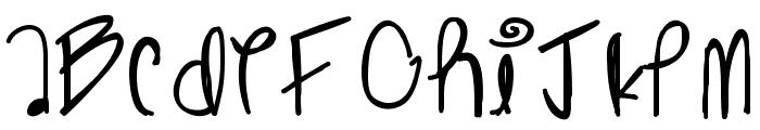 Ghostginger Font UPPERCASE
