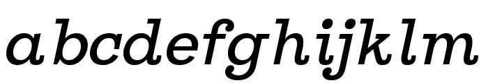 Ghostlight Light Italic Font LOWERCASE