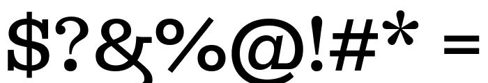 Ghostlight-Light Font OTHER CHARS