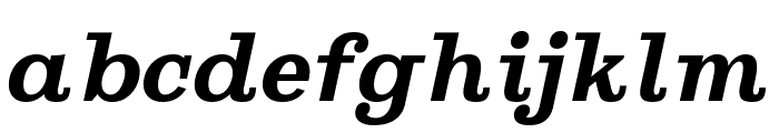 Ghostlight Semibold Italic Font LOWERCASE