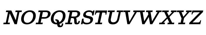 Ghostlight Semilight Italic Font UPPERCASE