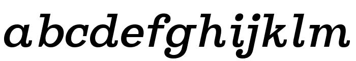 Ghostlight Semilight Italic Font LOWERCASE