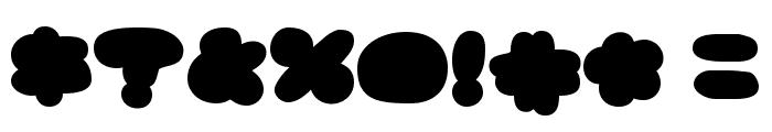 GhostmeatBack-Regular Font OTHER CHARS