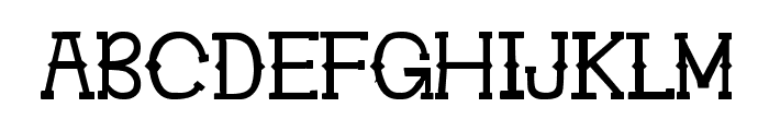 Ghosttown BC Font UPPERCASE