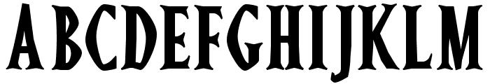 Ghostz Font UPPERCASE