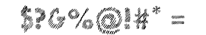 Ghotic Sketch Font OTHER CHARS