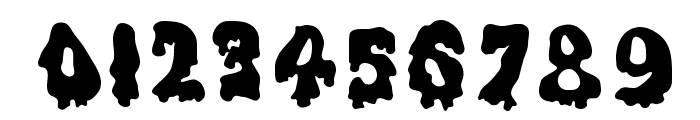 Ghouly Solid Font OTHER CHARS