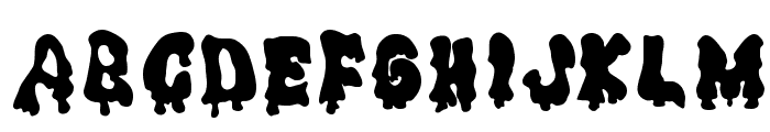 Ghouly Solid Font UPPERCASE