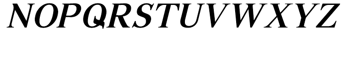 GHE Gohar Bold Italic Font UPPERCASE