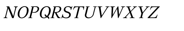 GHEA Aragast Italic Font UPPERCASE