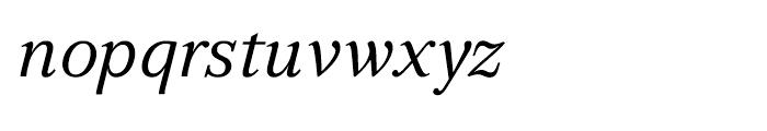 GHEA Aragast Italic Font LOWERCASE