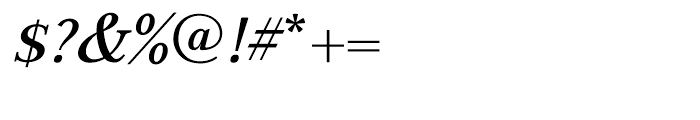 GHEA Aspet Medium Italic Font OTHER CHARS