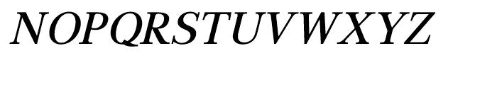 GHEA Aspet Medium Italic Font UPPERCASE