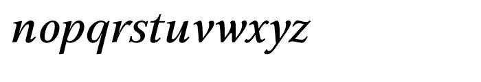 GHEA Aspet Medium Italic Font LOWERCASE