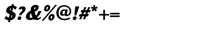 GHEA Koryun Black Italic Font OTHER CHARS