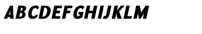 GHEA Koryun Black Italic Font UPPERCASE