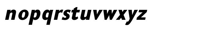 GHEA Koryun Black Italic Font LOWERCASE
