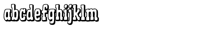 Ghost Town Barkeep Font LOWERCASE
