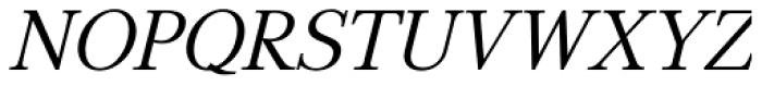 GHEA Aspet Book Italic Font UPPERCASE