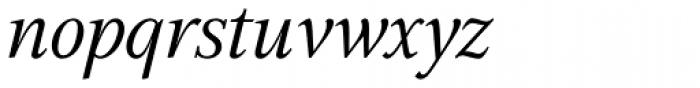 GHEA Aspet Book Italic Font LOWERCASE