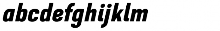 GHEA Dvin Bold Italic Font LOWERCASE