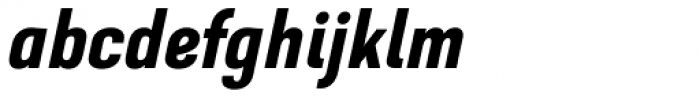 GHEA Dvin DemiBold Italic Font LOWERCASE
